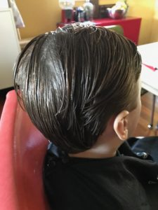 boys haircut under school age trim cut brisbane mobile hairdresser chelley bean mobile hairdressing scissors