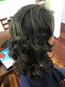 curls loose waves soft special occasion styling brisbane mobile hairdresser chelley bean mobile hairdressing medium length