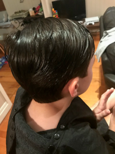 boys haircut boy young man brisbane mobile hairdresser chelley bean hair short back and sided