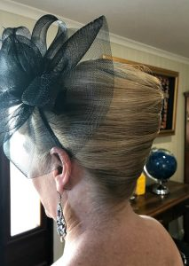 french roll classic upstyle special occasion hairstyling hairdresser brisbane mobile chelley bean mobile hairdressing chelleybean hair